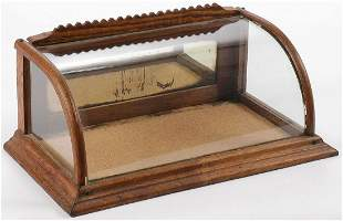 CHARMING SMALL COUNTERTOP DISPLAY CASE