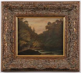 THREE VINTAGE OIL PAINTINGS