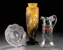 228: A GALLE REPRODUCTION CAMEO GLASS VASE Height 15 i