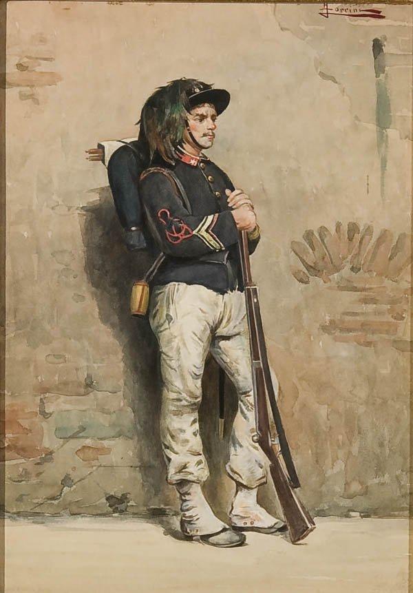 15: PAINTING, F. FORRINI (ITALIAN)