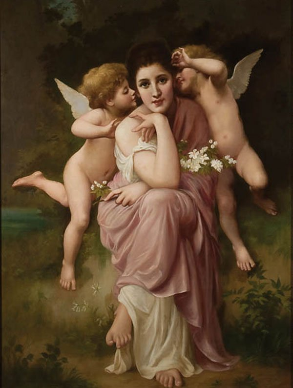 20: PAINTING, BOUGUEREAU (AFTER)