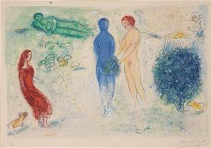 189: MARC CHAGALL COLOR LITHOGRAPH