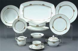 1174 A 56 PIECE SET OF SILESIA DINNERWARE early 20th c