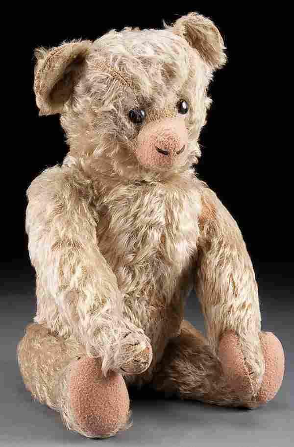 A LARGE STEIFF TEDDY BEAR, early 20th century, mo