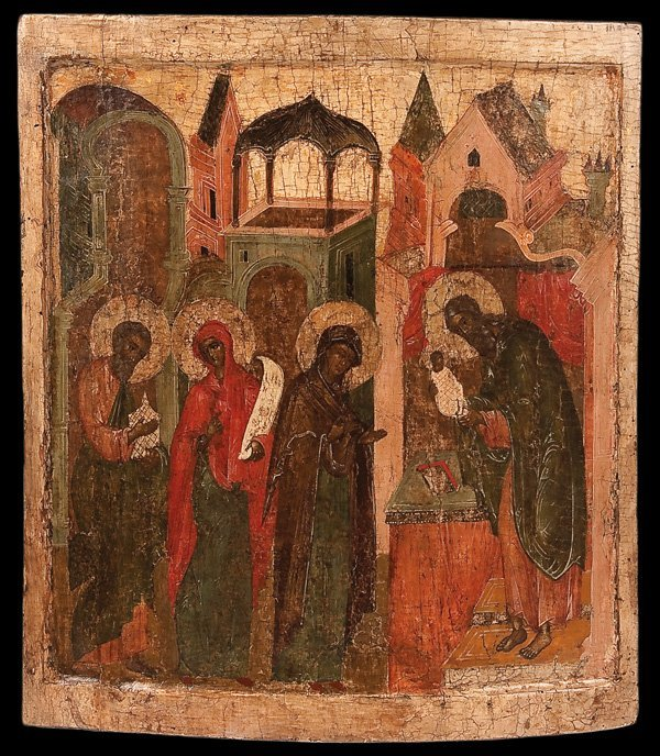 2: A RUSSIAN ICON OF THE MEETING OF THE LORD
