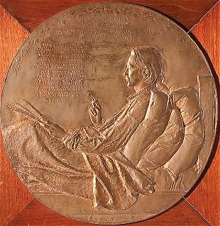790: SCULPTURE BY AUGUSTUS SAINT-GAUDENS (American 1848