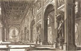 1064 ETCHING BY GIOVANNI BATTISTA PIRANESI