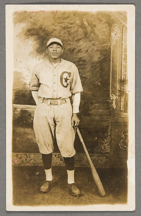 3: BLACK MEMORABILIA: BASEBALL REAL PHOTO POSTCARD