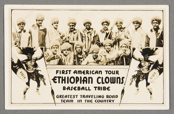 13: BLACK MEMORABILIA: BASEBALL REAL PHOTO POSTCARD
