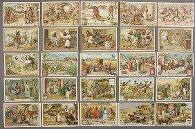 930: BLACK MEMORABILIA: LIEBIG TRADE CARDS