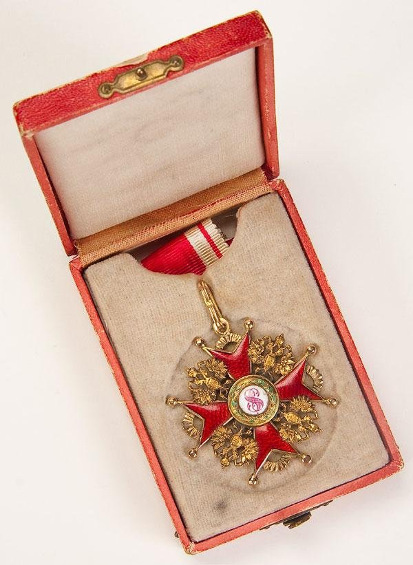 3: IMPERIAL RUSSIAN ORDER OF ST. STANISLAS