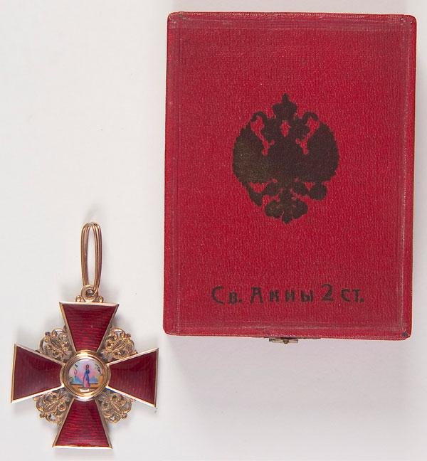5: IMPERIAL RUSSIAN ORDER OF ST. ANNE