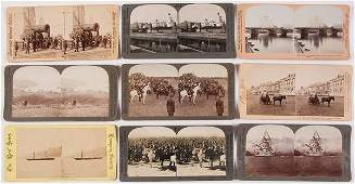 211 9 IMPERIAL RUSSIAN REAL PHOTO STEREOVIEWS