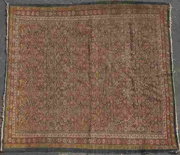 289: NORTHWEST PERSIAN HAND WOVEN ORIENTAL RUG