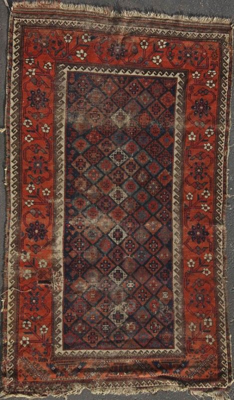 290: PERSIAN HAND WOVEN WOOL CARPET