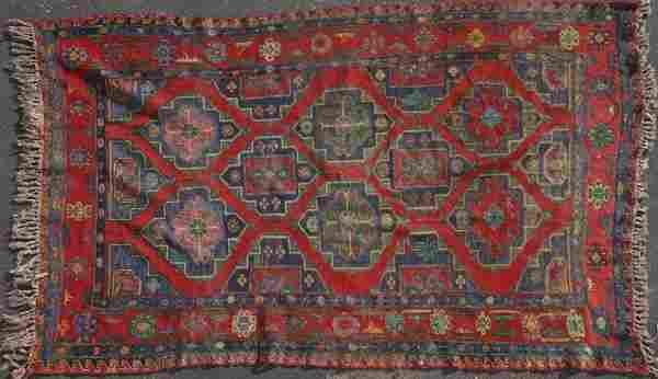 TURKISH HAND WOVEN WOOL CARPET