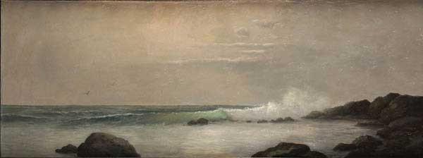 340: OIL PAINTING, ARTHUR R. MARTENS