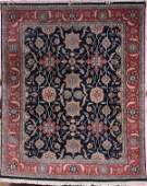 282: A LARGE ROOM SIZED HAND WOVEN ORIENTAL CARPET, wi