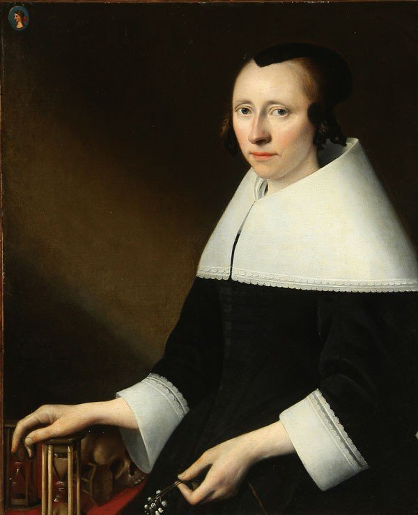 8: OLD MASTER PAINTING, ANTHONIE PALAMEDESZ
