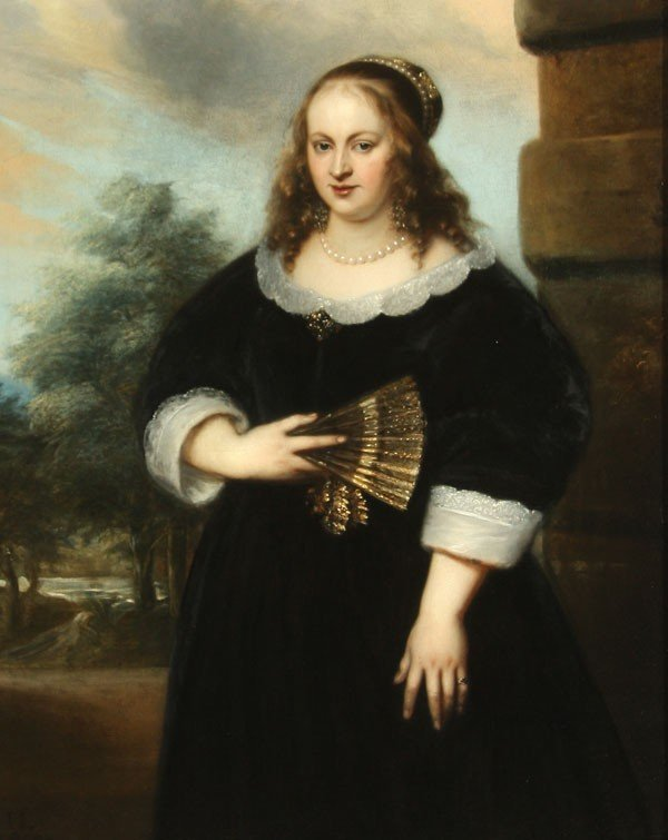9: OLD MASTER PAINTING, JAN LIEVENS- 1650