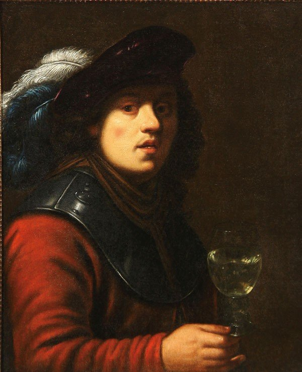 10: OLD MASTER PAINTING, CIRCLE OF REMBRANDT