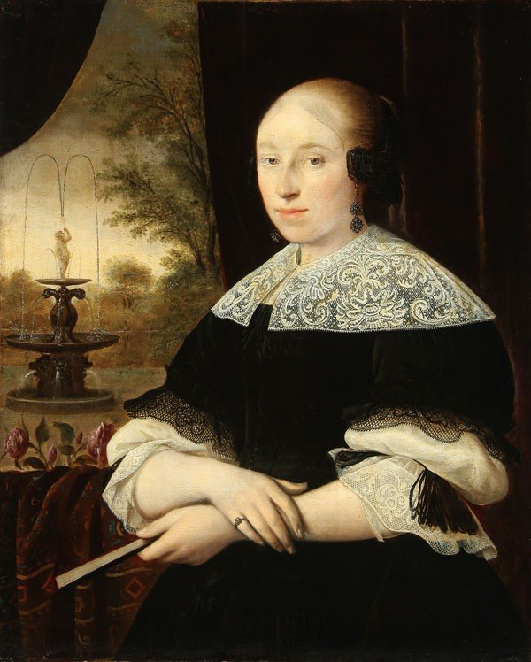 15: OLD MASTER PAINTING, DATED 1668