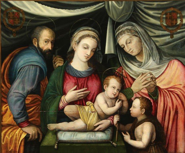 21: OLD MASTER PAINTING, ATTRIBUTED CAPASSINNI