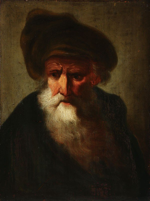 74: TWO OLD MASTER PAINTINGS, FOLLOWER DIETRICH