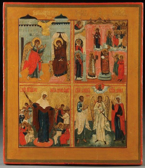 RUSSIAN ICON, CIRCA 1800