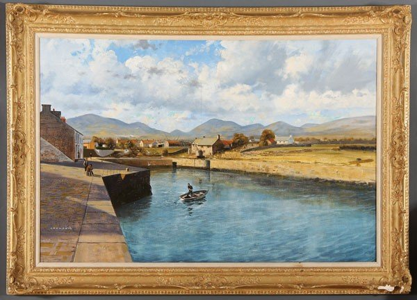 375: OIL PAINTING BY GERALD COULSON - 2