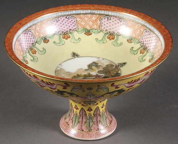 4: CHINESE PORCELAIN, IMPERIAL  QIANLONG STYLE BOWL