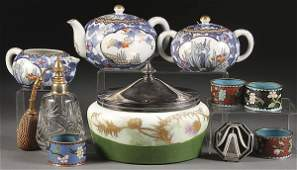203 A PORCELAIN AND GLASS DECORATIVE ARTS GROUP