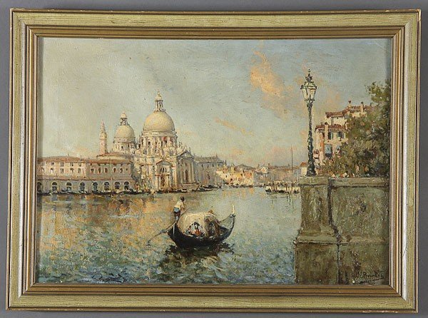 252: OIL PAINTING, VENICE