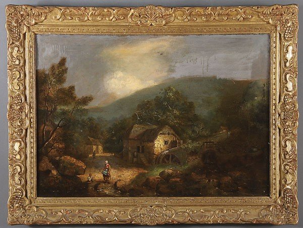 254: 19TH CENTURY OIL PAINTING