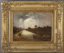 270 19TH CENTURY OIL PAINTING