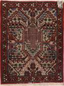 733: A PAIR OF HANDWOVEN ORIENTAL RUGS, MID 20TH CENTUR