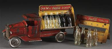 801: A METALCRAFT TOY COCA-COLA DELIVERY TRUCK