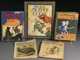 FOUR EARLY CHILDRENS BOOKS