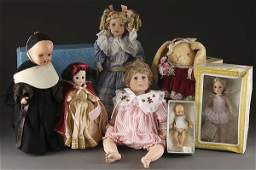 1007: VINTAGE DOLL GROUPING, MID 20TH CENTURY