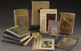 1202 ANTIQUE CHILDREN BOOKS A GROUP OF EIGHT