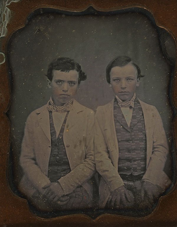 1239:  DAGUERREOTYPE COLLECTION OF 14 IMAGES - 3
