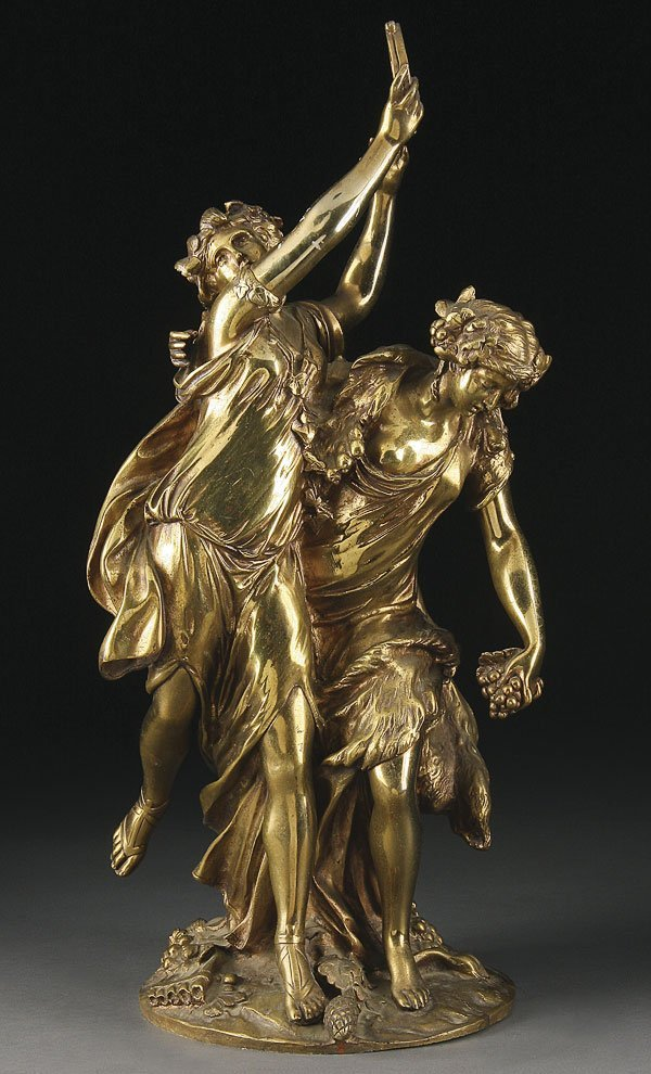 217: BRONZE BACCHANALIA GROUP AFTER CLODION