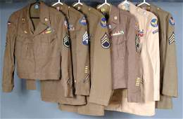 1280 US WWII ARMY AIR FORCE AND VIETNAM UNIFORM COLLEC