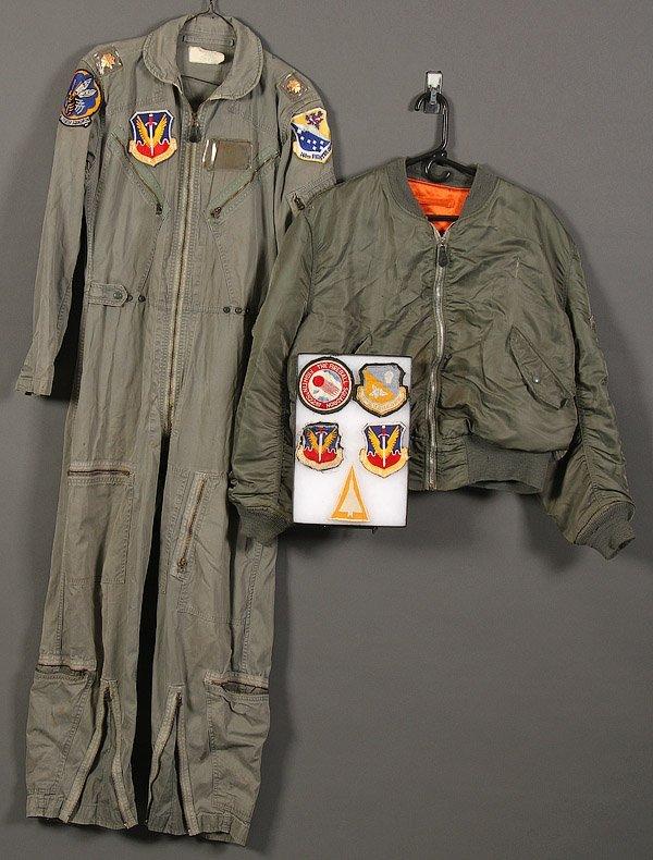 VIETNAM ERA & LATER USAF FLIGHT JACKETS : Lot 0438