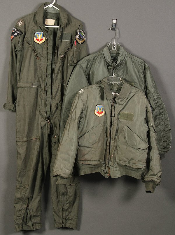VIETNAM ERA & LATER USAF FLIGHT JACKETS - 2