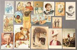 A LARGE GROUP OF VICTORIAN ADVERTISING TRADE CARDS