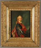 A PAIR OF 19TH C. OIL PAINTINGS