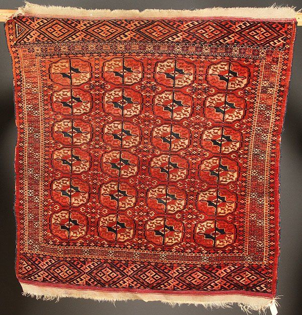A GROUP OF FOUR HAND WOVEN ORIENTAL RUGS