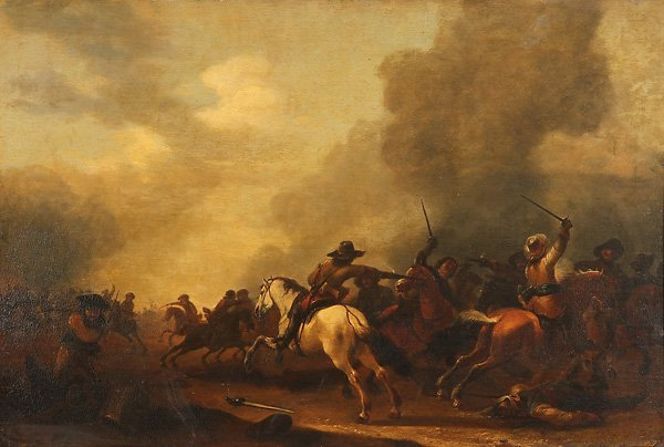 DUTCH OLD MASTER OIL PAINTING