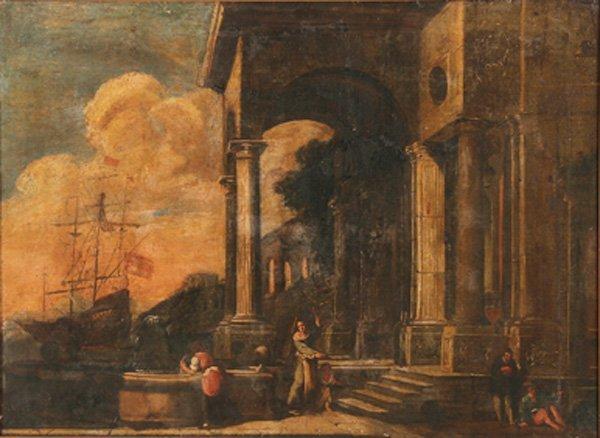 ITALIAN OLD MASTER OIL PAINTING, 17TH/18TH CENTURY